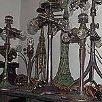 Bronze Tiffany Lamp Bases